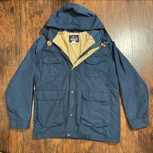 Vintage Woolrich Men's Weatherproof Anorak Jacket